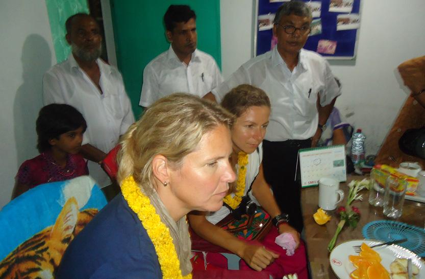 Netherlands Donor visited RDS's program